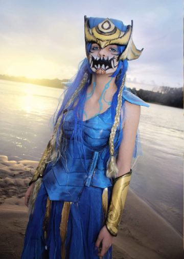 Human Aurelion Sol z League of Legends