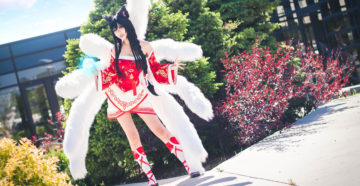 Ahri z League of Legends