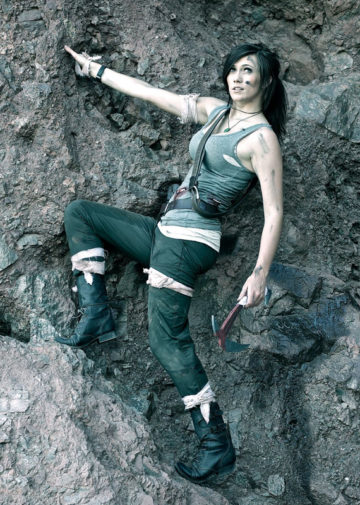 Lara Croft z gry Tomb Raider