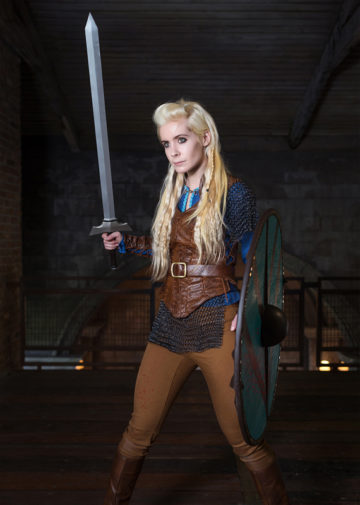 Lagertha z Vikings