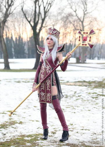 Sally Whitemane z World of Warcraft