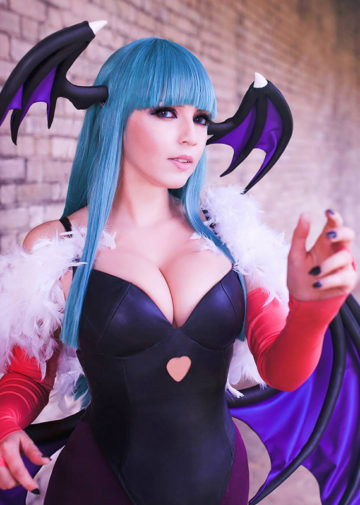 Morrigan Aensland z Darkstalkers