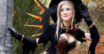 Witch Mercy z Overwatch