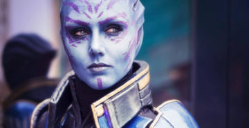 Tela Vasir z Mass Effect 2: Shadow Broker