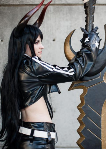 Black Gold Saw z Black Rock Shooter