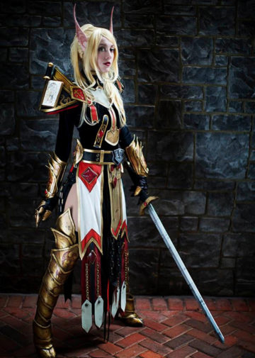 Blood Elf Paladin z World of Warcraft