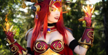 Alexstrasza z World of Warcraft