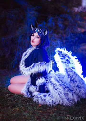 Midnight Ahri z League of Legends