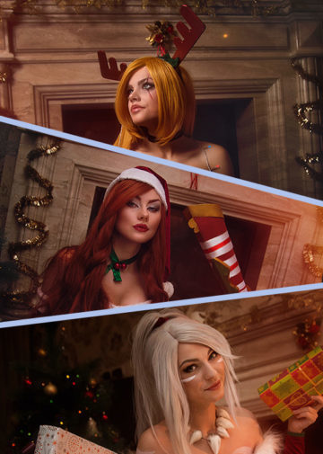 Slay Belle Katarina, Miss Fortune i Nidalee z League of Legends