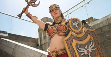 Valkyrie Leona z League of Legends