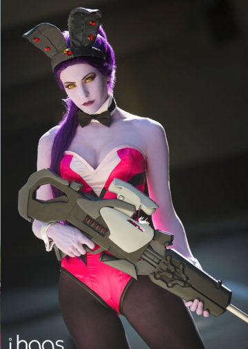 Bunny Widowmaker z Overwatch