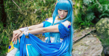 Umi Ryuuzaki z Magic Knight Rayearth