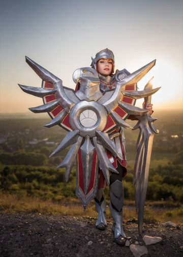Iron Solari Leona z League of Legends
