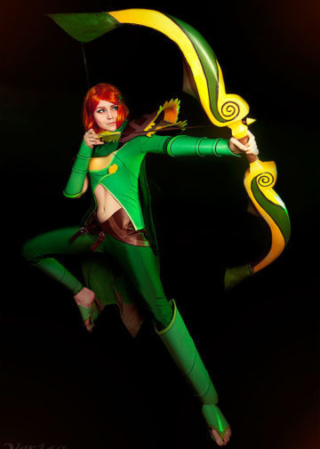 Lyralei the Windranger z Dota 2