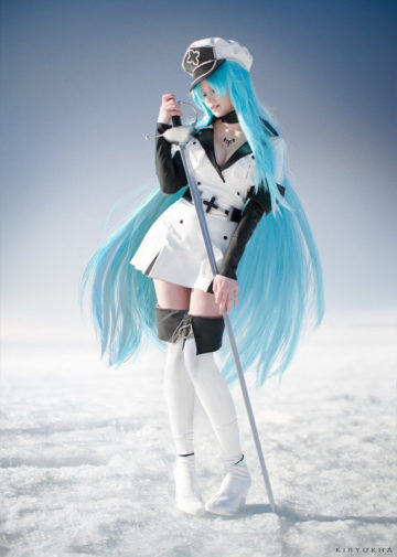 Esdeath z Akame Ga Kill!