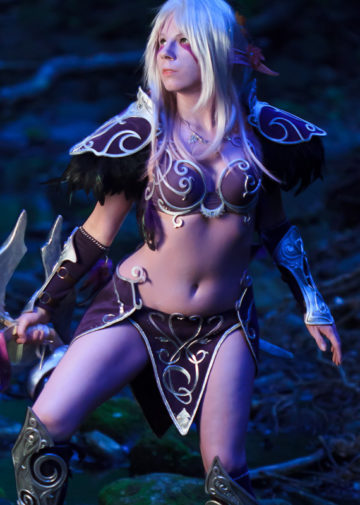 Night Elf z World of Warcraft