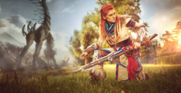 Aloy z Horizon: Zero Dawn