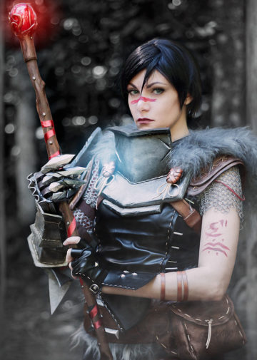 Lady Hawke z Dragon Age 2