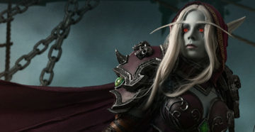 Sylvanas Windrunner - Legion z World of Warcraft