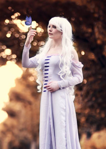 Lady Amalthea z The Last Unicorn