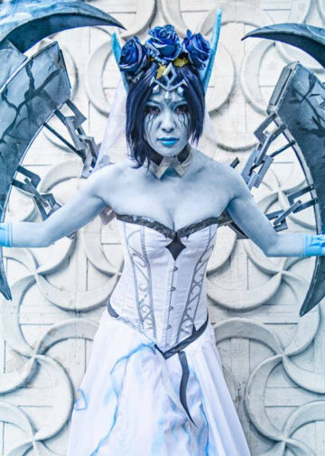 Ghost Bride Morgana z League of Legends
