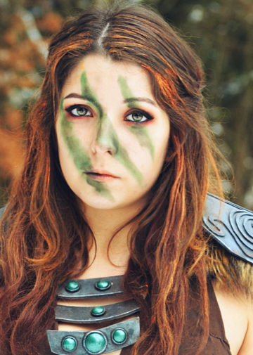 Aela the Huntress z The Elder Scrolls V: Skyrim