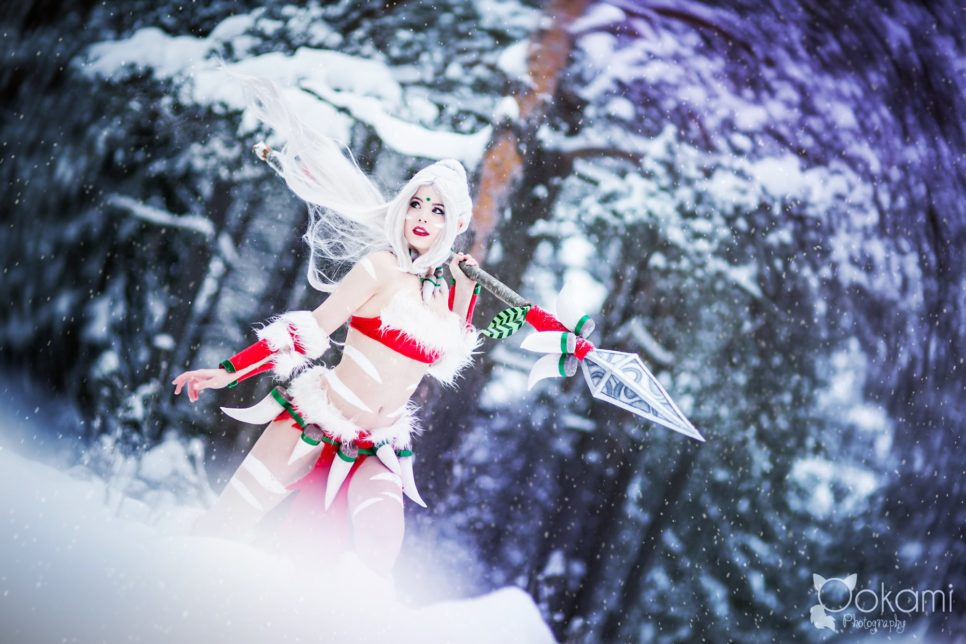 Snow Bunny Nidalee | League of Legends
