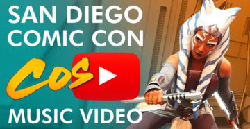 San Diego Comic Con 2019 - Cosplay Music Video by Sneaky Zebra
