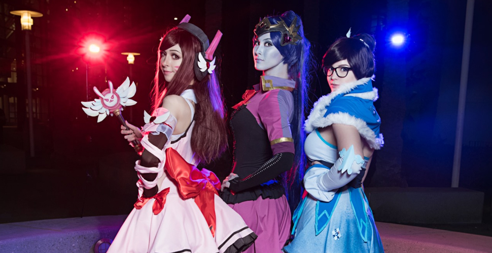 Magical Girl D.Va, Widowmaker i Mei | Overwatch