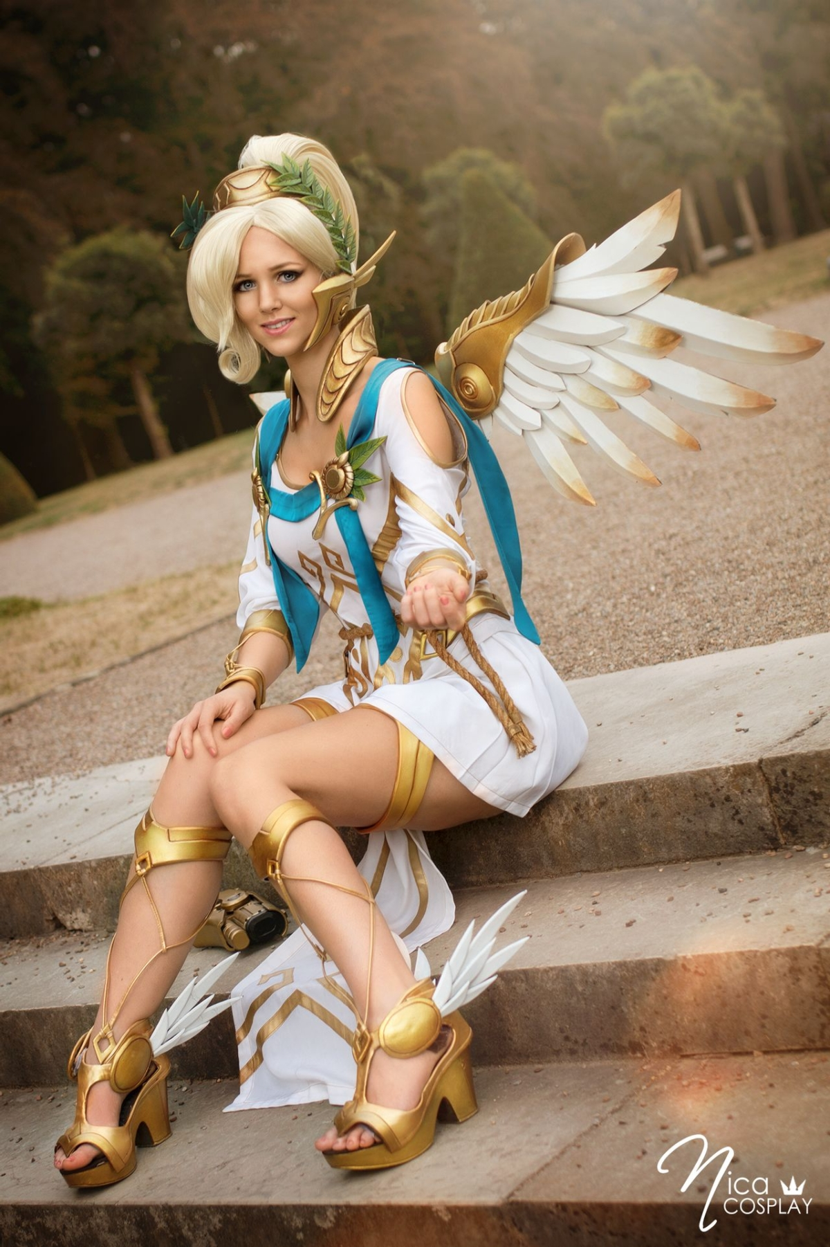 Winged Victory Mercy   Overwatch