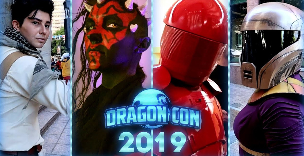 Star Wars Cosplay Music Video z Dragon Con 2019