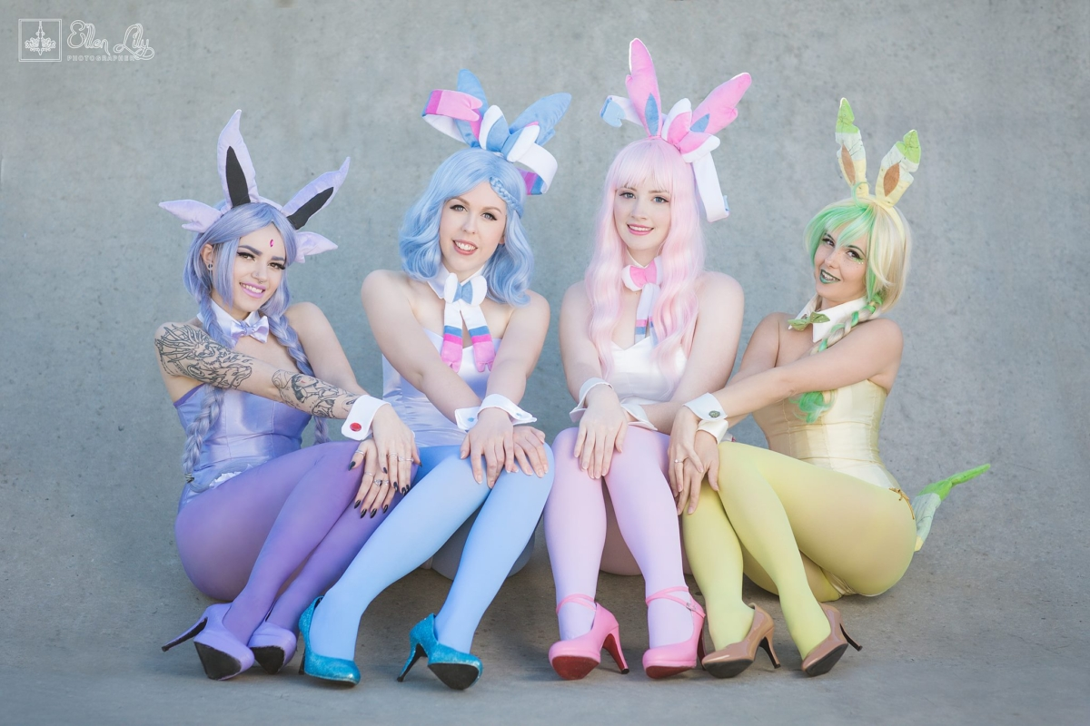 Shiny Leafeon, Sylveon, Shiny Sylveon i Espeon | Pokemon