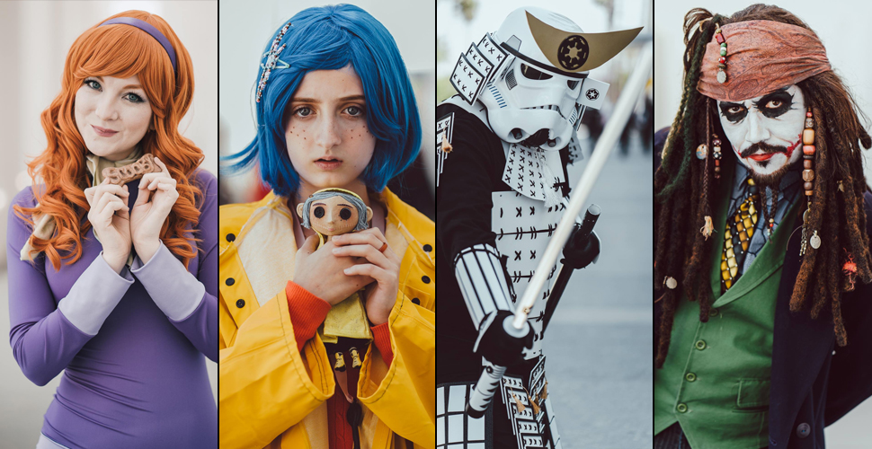 Cosplay na Comic Con Revolution 2017