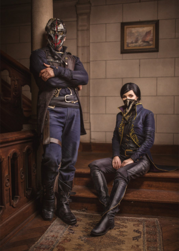 Corvo Attano i Emily Kaldwin | Dishonored