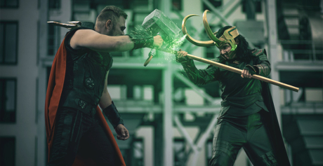 Loki vs Thor | Marvel Cinematic Universe